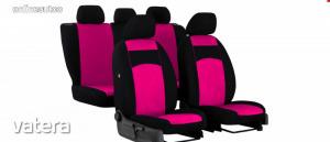 Univerzális Üléshuzat Tuning velúr rózsaszín színben