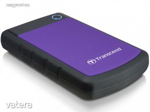 Transcend StoreJet 25 H3P USB 3.0, 2TB, 2.5'' Hármas védelem/Backup külső HDD