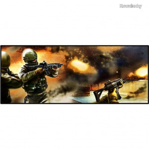Gembird Gaming mouse pad extra large Shooting game MP-PL-ANTYTERRORYSCI-01-XL