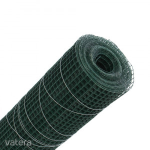 Grünman díszes kerítésháló, PVC, zöld, 0,5 x 10 m (1,2 x 13 x 13 mm)