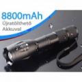 AKKUS Power Style CREE LED ZOOM lámpa - kerékpárra is rögzíthető