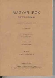 Magyar írók élete és munkái VIII.