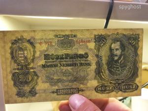 1930-as 20 pengő! Ritka!!!EXTRA Gyönyörű! 1 forintról!!!