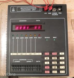 BHG mikroprocesszor emulátor debugger