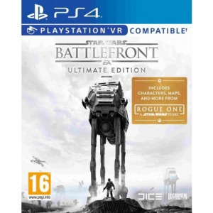 Ps4 star wars battlefront ultimate edition - Konzol, játékszoftver