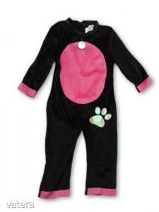 92-es fekete-rózsaszín cica jelmez