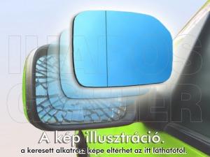 Citroen Xantia 1993-1997 - Tükörlap felragasztható bal, kék, sík