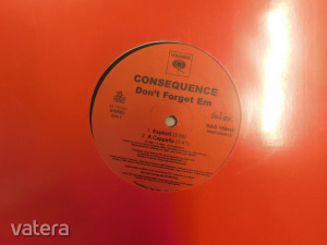 Consequence - Don't Forget Em (12 inch VG+)