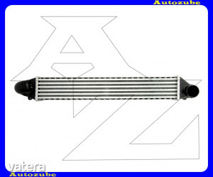 VW  SHARAN  1  1995.08-2000.04  /7M/  Intercooler,  levegőhűtő    1.9TDi        570x96x85