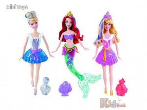 Disney Hercegnők: Többféle színváltós hercegnő - Mattel