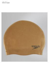 Moulded Sil Speedo női úszósapka réz színű
