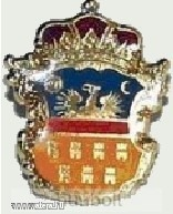 Erdély címer jelvény (aranyozott) - Vatera.hu Kép
