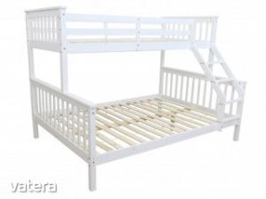 3 személyes emeletes ágy ágyráccsal - TMP36444
