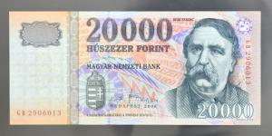 2008 GB  20.000 forint  UNC  SP56