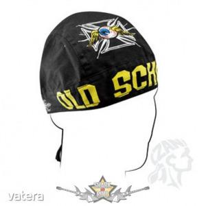 Headwrap - Old School Emroidered Doo Rag Flydanna. vászon kendő