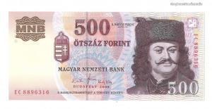2008 500 forint EC UNC