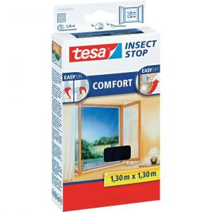 TESA? COMFORT szúnyogháló ablakra, 1,3 x 1,3 m, antracit