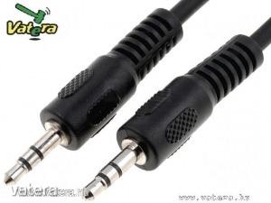 Audio kábel: mind2 végén 3.5mm Jack dugó, 1.5m