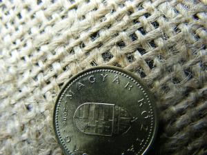 1 forint 2006 , MagyÁr , verdehibás