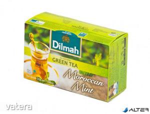 Zöld tea, 20x1,5g, DILMAH Marokkói menta