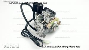 Karburátor 4T GY6 50-80ccm CVK, 4 ütemű kínai robogóhoz
