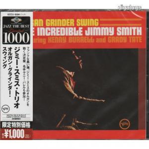 Jimmy Smith Organ Grinder Swing japán CD Új!