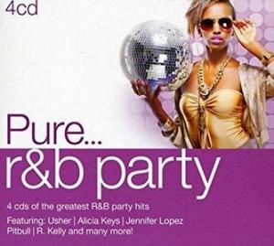 VÁLOGATÁS - Pure?R&B Party / 4cd / CD