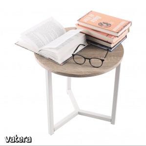 CELINI asztalka, natúr fa/fehér