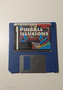 AMIGA Játék Pinball Illusions - DEMO - G