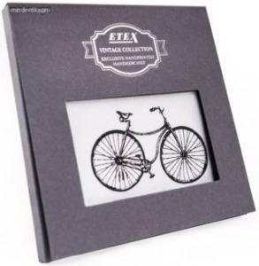 Etex M35 férfi textilzsebkendő vintage oldtimer bicikli
