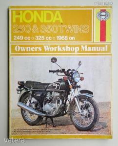 Honda CB250 és CB350 javítási könyv (1968-1974) Haynes