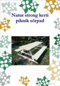 Natur Strong Piknik kerti pad
