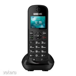 Maxcom MM35D mobiltelefon asztali töltővel, egy sim-es, kártyafüggetlen, fm rádiós fekete (magyar...
