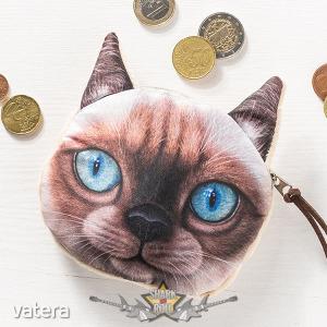 3D Cat coin bag model 1. 3d hatás. pénztárca, apró pénz tartó