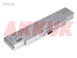 Helyettesítő akku típ. VGP-BPS2A/S 5200mAh ezüst