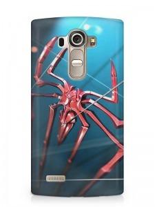 pókos pók mintás LG K8 tok hátlap