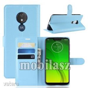 MOTOROLA Moto G7 Power, WALLET notesz mobiltok, Kék