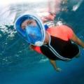Univerzális, teljes arc/búvármaszk sznorkelinghez - L/XL