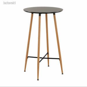 Bárasztal, fekete/tölgy, IMAM