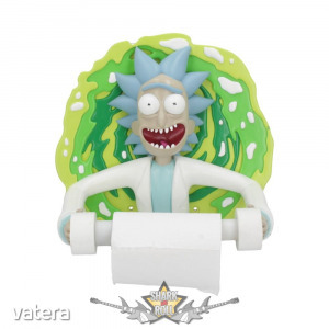 Rick and Morty - Rick Toilet Roll Holder Rick and Morty Loo Roll. wc papir tartó