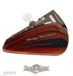 Harley-Davidson? Claw Ripped Brown Fuel Tank Pin - PU-63146. fém motoros jelvény