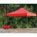 Összecsukható kerti pavilon, sörsátor 3x3m-es méretben - piros
