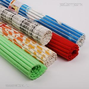 Színes, mintás PVC, szivacs szőnyeg 40cmx65cm