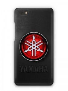 Yamaha mintás Huawei P8 tok hátlap