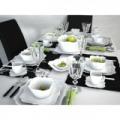 Luminarc Authentic 19 részes fehér porcelán étkészlet - 502501