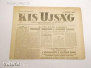 Kis Újság - A Független Kisgazda-, Földmunkás- és Polgári Párt lapja / 1946 március 28. (*812) - 500 Ft Kép