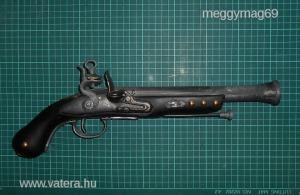 -Pirate tromblon pistol,(Rumcájsz pisztoly)-XVIII.századi stílusban!