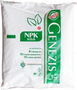 NPK 8-15-15 komplex EK műtrágya