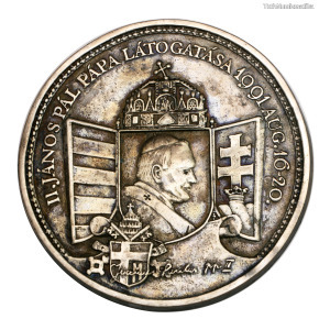 Bozó: II. János Pál pápa látogatása 1991. aug.16-20.NAGY MINTA