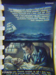 Monte Cristo grófja - retró diafilm 1957. (ritka, hibátlan állapotban)